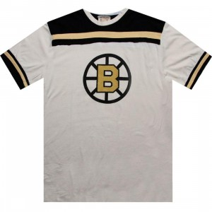 Red Jacket Boston Bruins Remote Control Tee (cream)