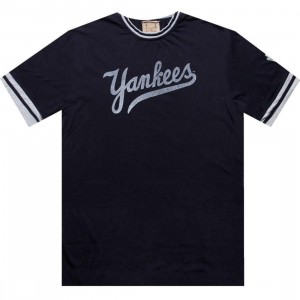 Red Jacket New York Yankees Remote Control Tee (navy)