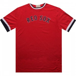 Red Jacket Boston Red Sox Remote Control Tee (red)