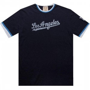 Red Jacket Los Angeles Dodgers Remote Control Tee (navy)