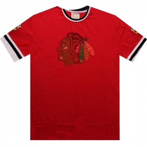 Red Jacket Chicago Blackhawks Remote Control Tee (red)