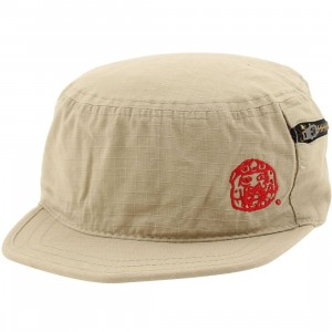 Raza Zipper Cap (tan)