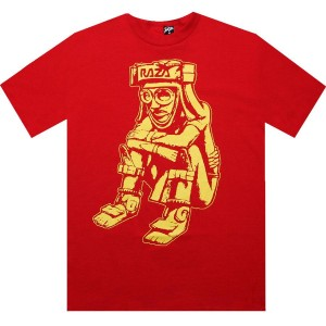 Raza Ballplayer Tee (red)