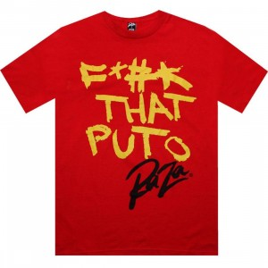 Raza F That Puto Tee (red)