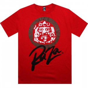 Raza Mask Crest Tee (red)