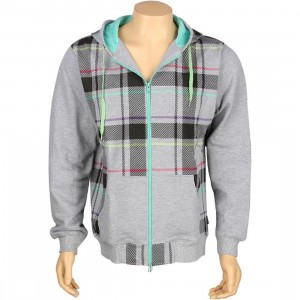 Rock Smith Plaid Hoody (heather)