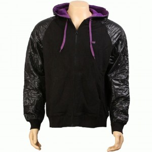Rock Smith Half Patent Hoody (black)