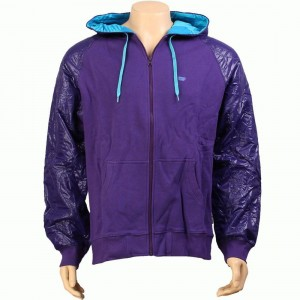 Rock Smith Half Patent Hoody (purple)