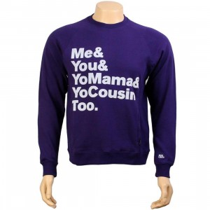 Rock Smith Family Sweater (purple)