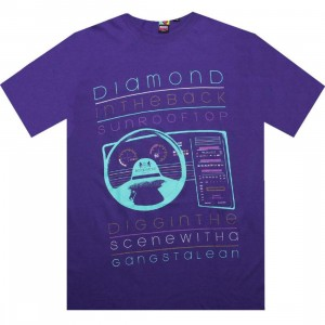 Rock Smith Diamond In The Back Tee (purple)