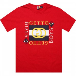 Rock Smith Ghetto Boys Tee (red)