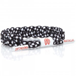 Rastaclat Chex Mix Bracelet (black / white)