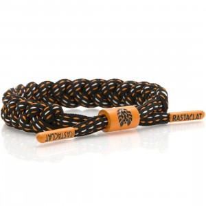 Rastaclat The Bay Giants Bracelet (black / orange)