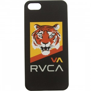 RVCA Tiger iPhone 5 Case (white / black / yellow)