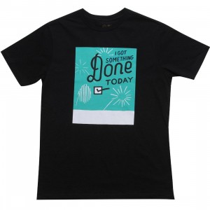 RVCA I Got Something Done Tee (black)