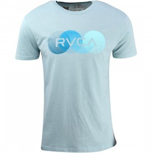RVCA Horizon Tee (blue / gray)