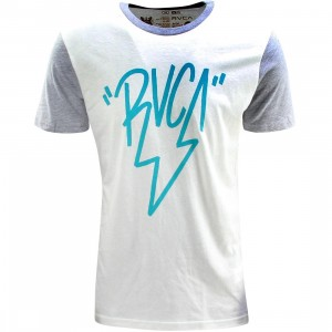 RVCA Lighting RVCA Tee (white / vintage heather)