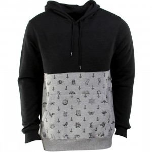 RVCA Benjamin Fleece Hoody (black)