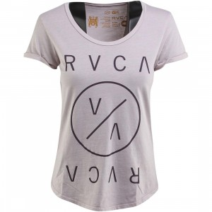 RVCA Women Highest End Tee (purple / violet)