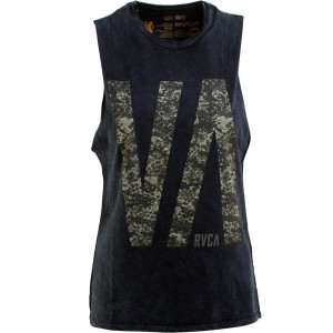 RVCA Women Tall VA Tee (black)