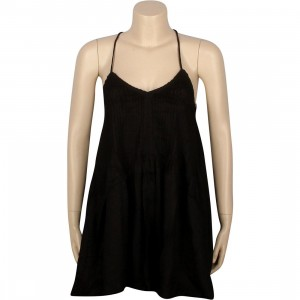 RVCA Told Secrets Dress (black)