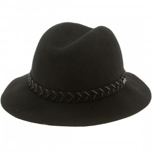 RVCA Rosy Fruits Fedora Hat (black)
