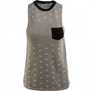 RVCA Women No Guts Shirt (olive / dusty olive)