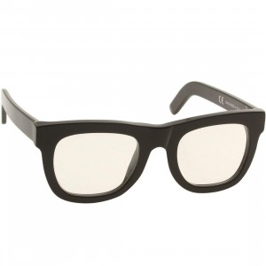 Super Sunglasses Ciccio (black / clear lenses)