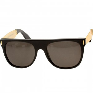 Super Sunglasses Flat Top (gold / francis)