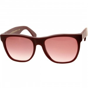 Super Sunglasses Basic (burgundy / bordeaux)