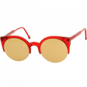 Super Sunglasses Lucia (red / translucent)