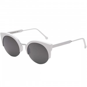 Super Sunglasses Lucia Francis Sunglasses (white)