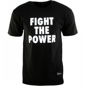 SSUR PLUS Fight The Power Tee (black)