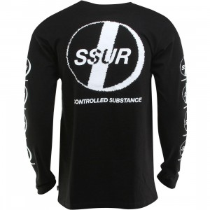 SSUR Substance Long Sleeve Tee (black)