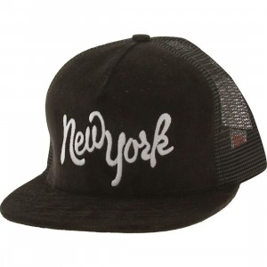 SSUR New York Applique Snapback Cap (black)