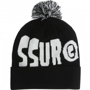 SSUR Plus C Pom Beanie (black)