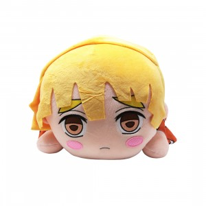 Sega Demon Slayer Kimetsu no Yaiba Zenitsu Agatsuma MEJ Lay-Down Plush (yellow)