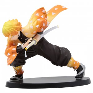 Sega Demon Slayer Kimetsu no Yaiba Agatsuma Zenitsu SPM Figure (orange)