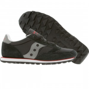 Saucony Jazz Low Pro (black / grey / red)