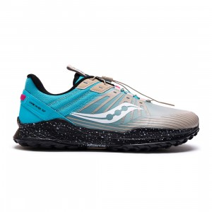 Saucony Men Mad River TR2 Astrotrail (blue / astro / water)