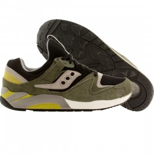 Saucony Men Grid 9000 - Autumn Pack (green / black)