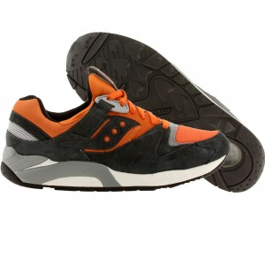Saucony Men Grid 9000 - Autumn Pack (gray / orange)