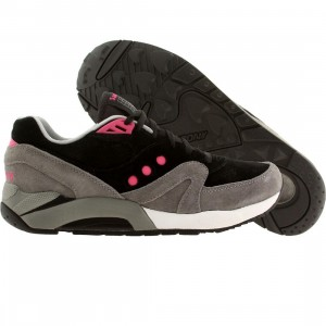 Saucony Men G9 Control (Black/Gery)