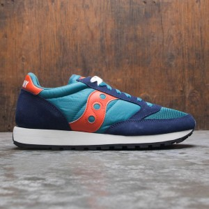Saucony Men Jazz Original Vintage (blue / peacoat / teal / orange)