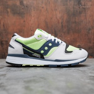 Saucony Men Azura (white / citron / denim)