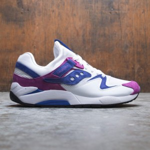 Saucony Men Grid 9000 (white / purple)