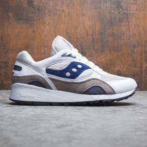 Saucony Men Shadow 6000 (white / gray / navy)