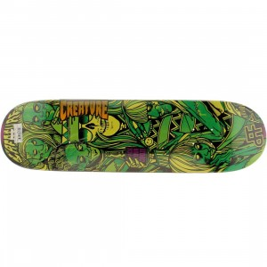 Creature DAF Divas LTD 32.125 In x 8.47 In Deck (green)