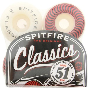 Spitfire Classic Wheels (red / white)