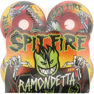 Spitfire Ramondetta Live Evil Wheels (red)